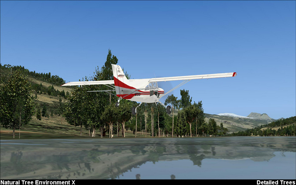 ZINERTEK - NATURAL TREE ENVIRONMENT X FSX P3D