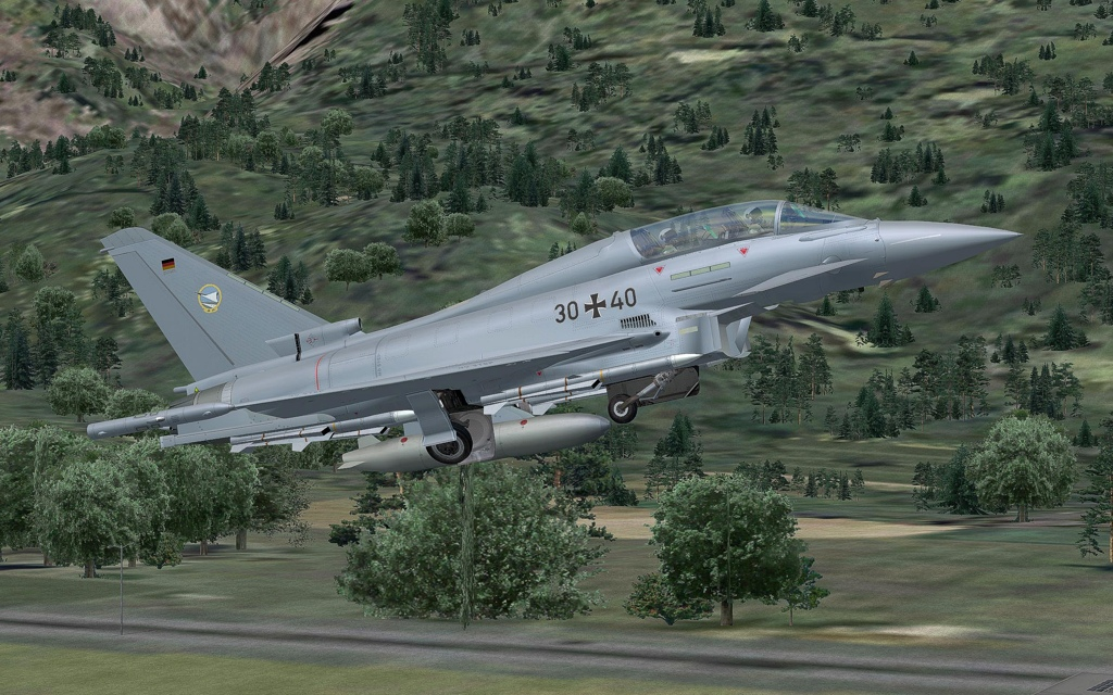 AFS-DESIGN - EUROFIGHTER TYPHOON PROFESSIONAL 5 FS2004