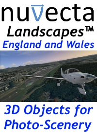 NUVECTA - LANDSCAPES™ ENGLAND AND WALES FSX P3D