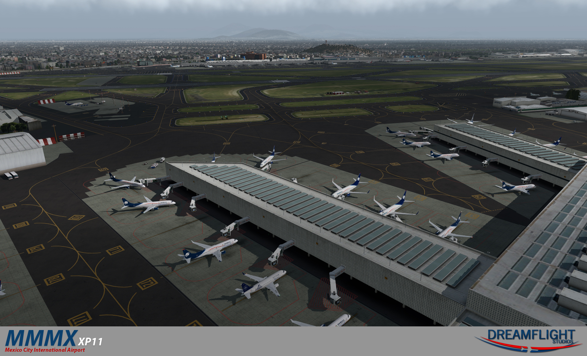 DREAMFLIGHT STUDIOS - MEXICO CITY AIRPORT X-PLANE 11