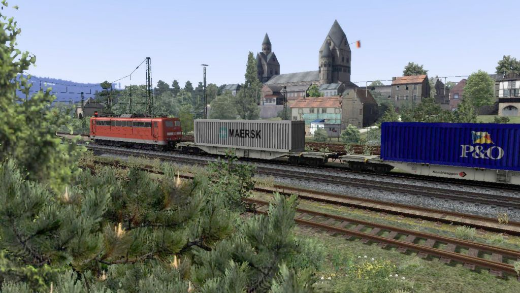 VIRTUAL RAILROADS - BR151 TRAFFICRED / SGSS