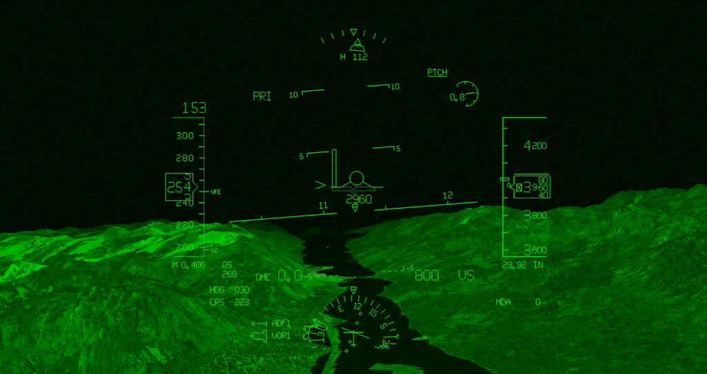 FLY REAL HUDS - AIR TRANSPORT HUD