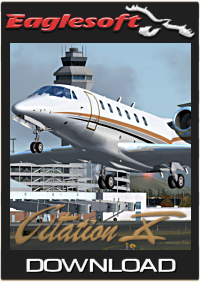EAGLESOFT DEVELOPMENT GROUP - CITATION X  EXTREME G2 FSX  P3D