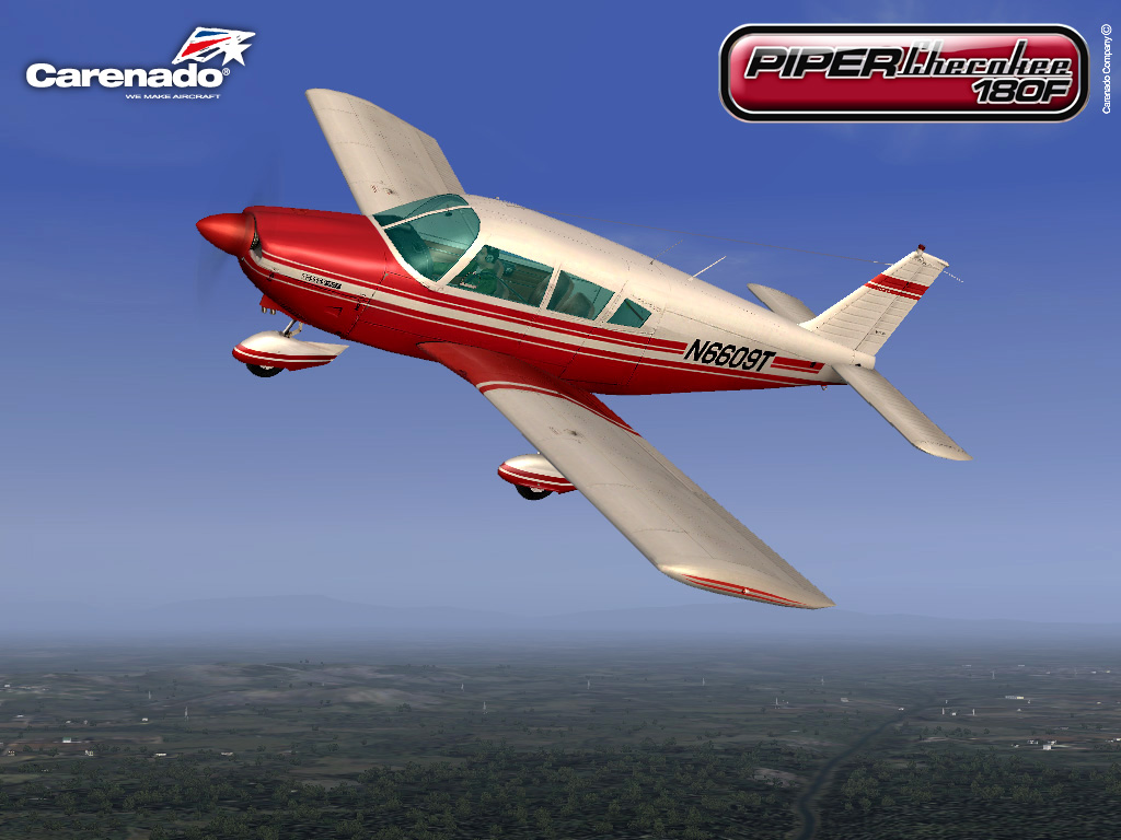 CARENADO - PIPER CHEROKEE 180F FS2004