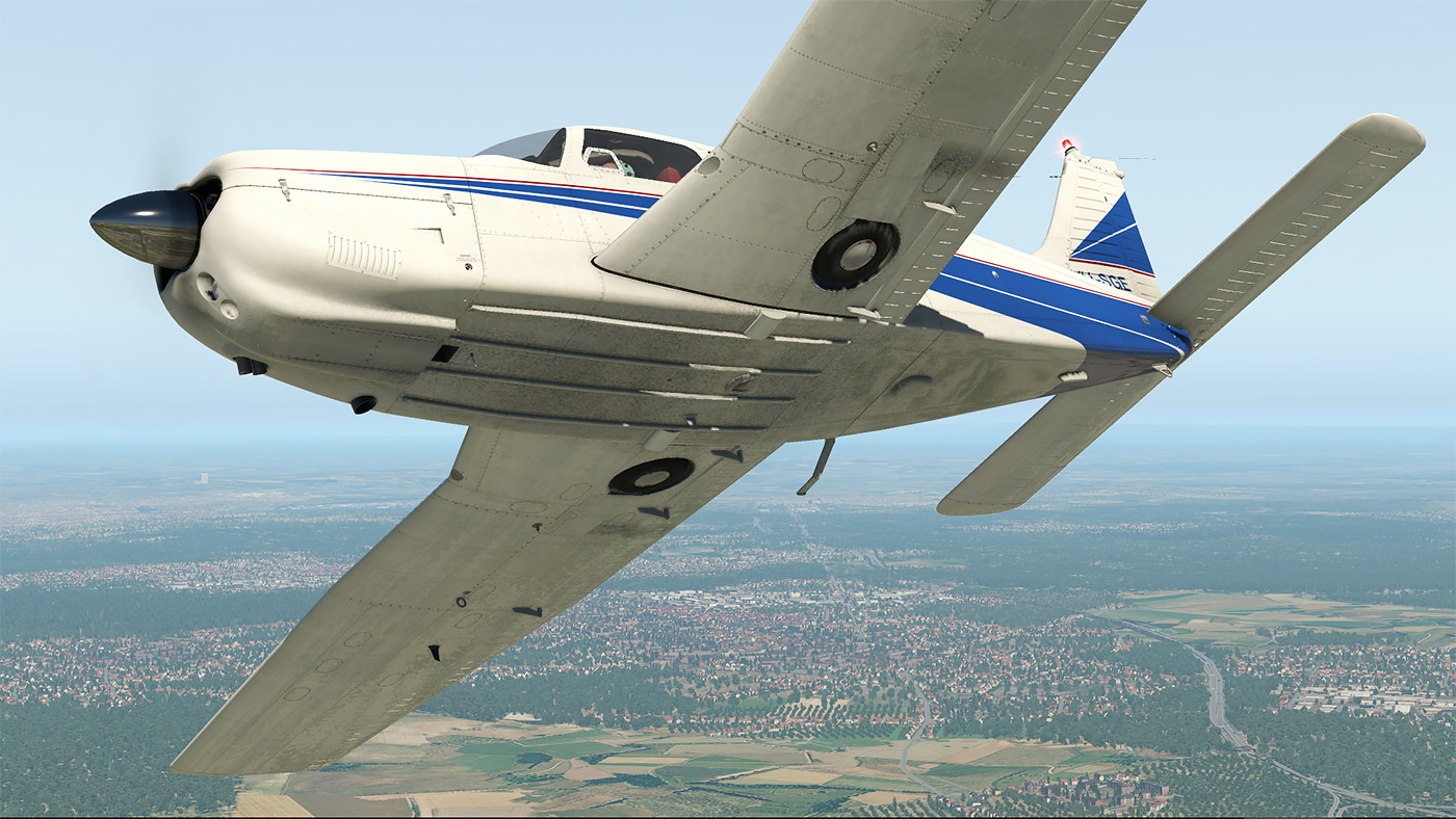 JUSTFLIGHT - PA-28R ARROW III X-PLANE 11