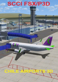CHILE AIRPORTS 3D - PUNTA ARENAS INTERNATIONAL AIRPORT SCCI P3D