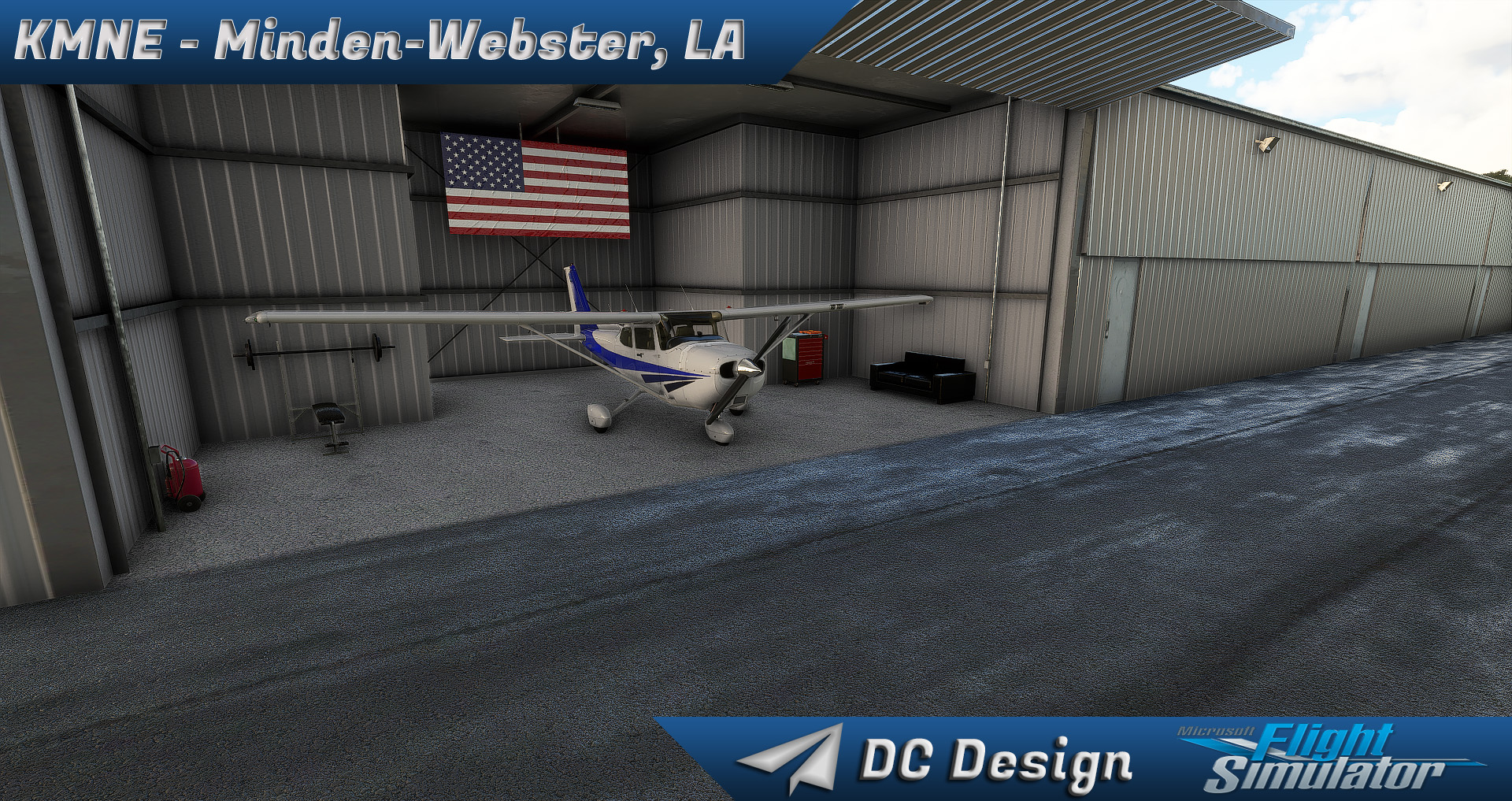 DC SCENERY DESIGN - KMNE - MINDEN-WEBSTER - MSFS