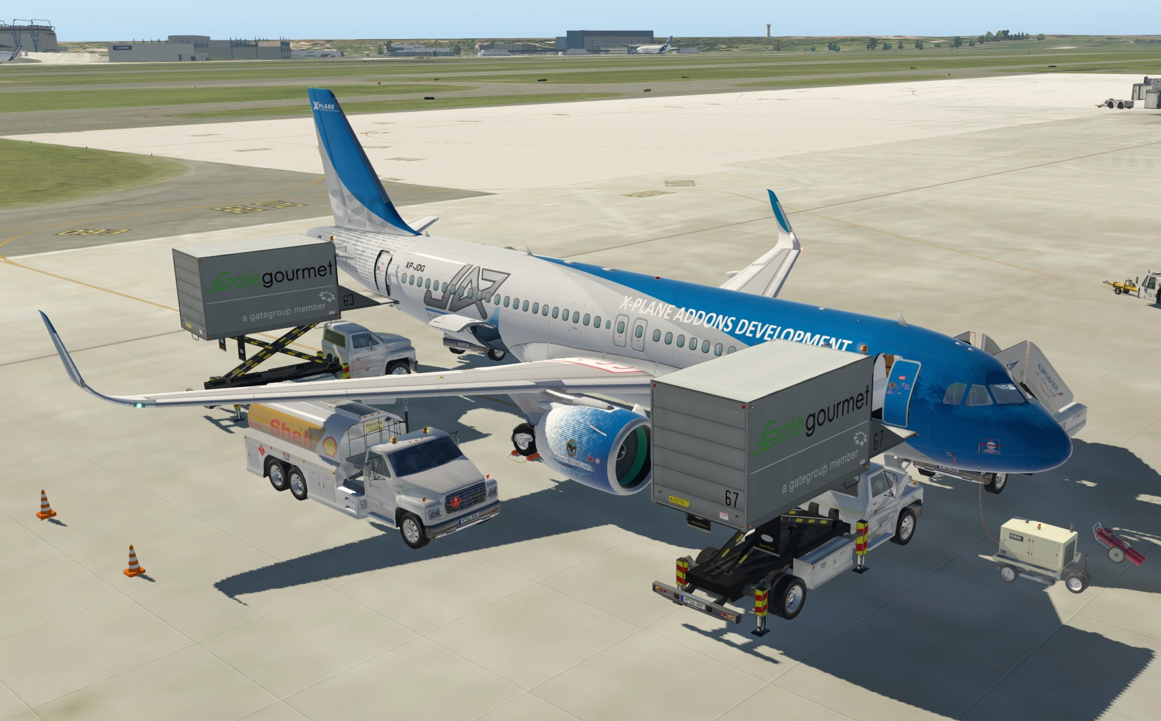 JARDESIGN - 320 AIRLINER FOR X-PLANE 11