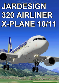 JARDESIGN - 320 AIRLINER FOR X-PLANE 10/11