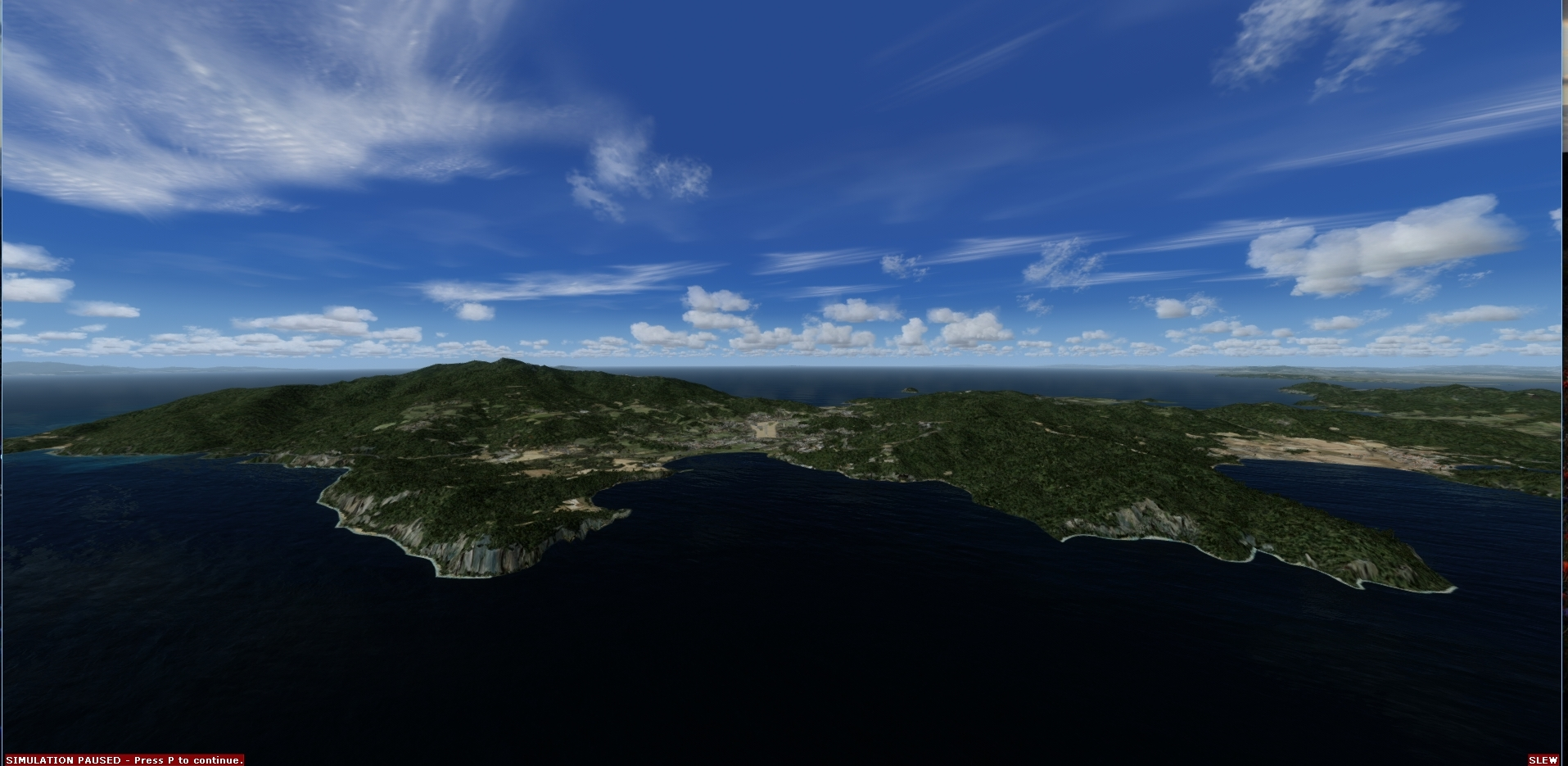 REAL EARTH X - ELBA ISLAND MESH 1 MT FSX P3D