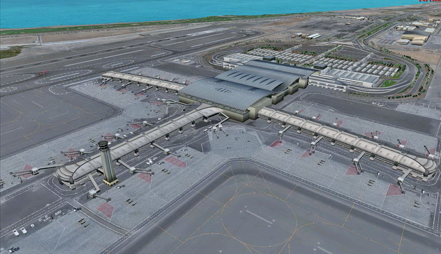 ARMI PROJECT - MUSCAT INTERNATIONAL AIRPORT OOMS FSX FS2004