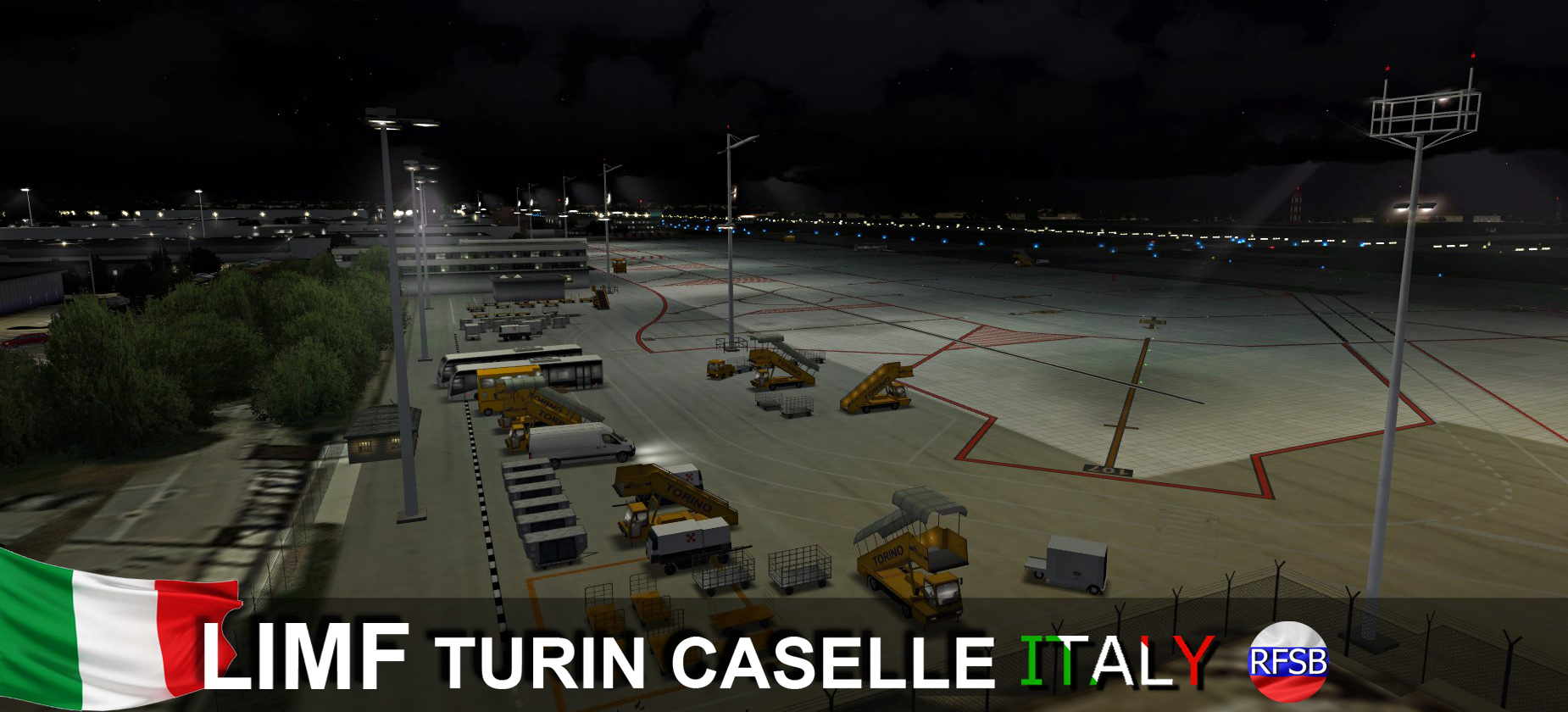 RFSCENERYBUILDING - LIMF TURIN CASELLE P3D5