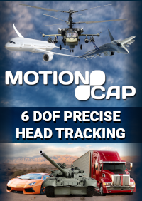 MOTIONCAP - ULTRA-PRECISE 6 DOF HEAD TRACKING SOLUTION 高精度头部追踪软件