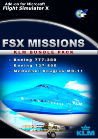 PERFECT FLIGHT - FSX MISSIONS – KLM BUNDLE PACK FSX