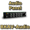 FI - BKAV-AUDIO BENDIX KING STYLE AUDIO PANEL