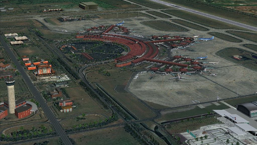 ONET VALLEY - SOEKARNO-HATTA INTERNATIONAL AIRPORT FSX