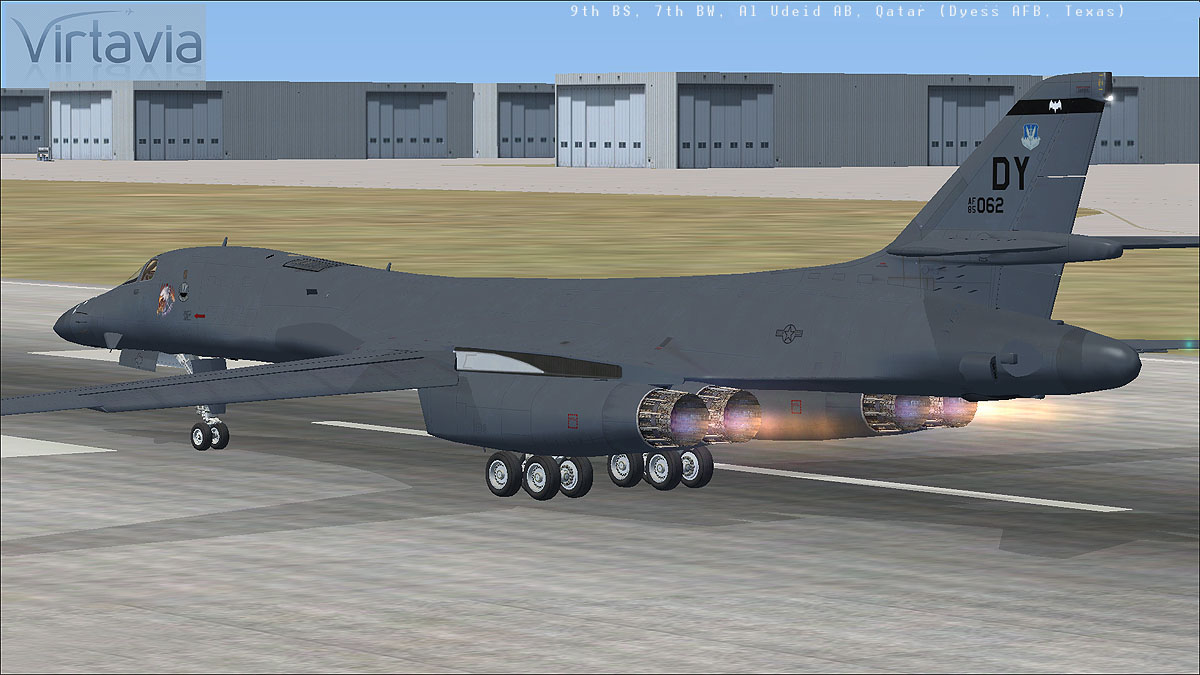 VIRTAVIA - B-1B LANCER FSX STEAM EDITION DLC