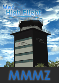 MEX HIGH FLIGHT - MMMZ MAZATLAN INTERNATIONAL AIRPORT FSX P3D