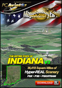 MEGASCENERYEARTH - PC AVIATOR - MEGASCENERY EARTH V3 - INDIANA FSX P3D