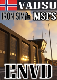 IRONSIM - VADSO AIRPORT ENVD MSFS