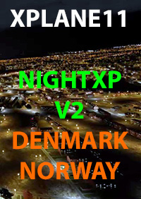 NIGHT XP V2 DENMARK NORWAY XPLANE 11