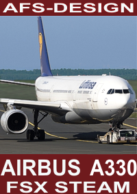 AFS-DESIGN - AIRBUS A330/340 FAMILY V3 FSX STEAM