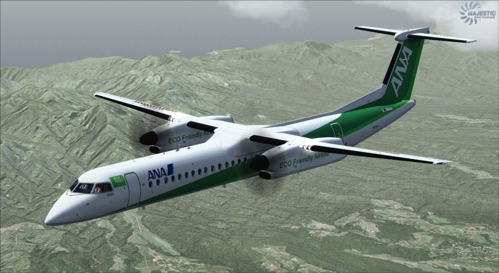 MAJESTIC SOFTWARE - DASH 8 Q400 PRO EDITION FSX P3D