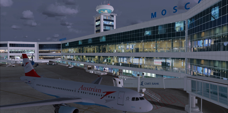 MDESIGN - MOSCOW DOMODEDOVO AIRPORT UUDD FSX P3D