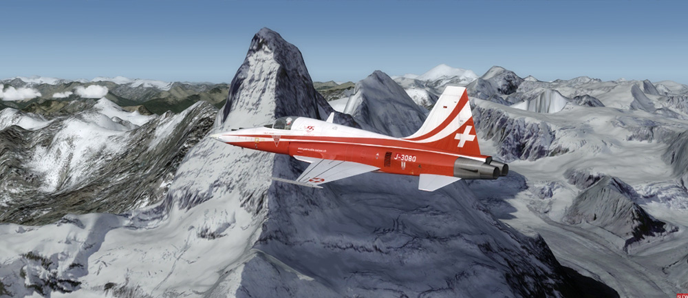 AEROSOFT - FLYLOGIC - FLY THE TIGER F-5 P3D4