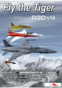 "AEROSOFT - FLYLOGIC - FLY THE TIGER F-5 ""虎""II 战斗机 P3D4"