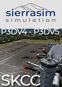 SIERRASIM SIMULATION - SKCC CAMILO DAZA INTERNATIONAL AIRPORT P3D4 P3D5