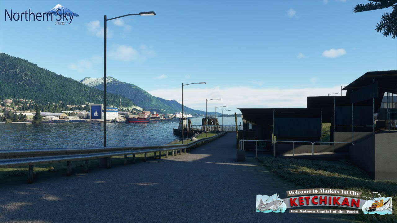 NORTHERN SKY STUDIO - KETCHIKAN INT - MSFS