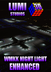 LUMI 3D STUDIOS - KUALA LUMPUR WMKK - INTERNATIONAL AIRPORT LIGHT ENHANCED MSFS