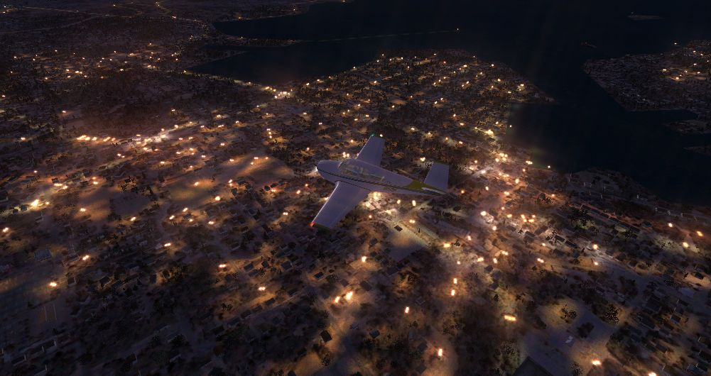 TABURET - FSX P3D NIGHT 3D NEW FOUNDLAND LABRADOR NOVA SCOTIA NEW BRUNSWICK
