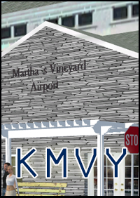 FSXCENERY - MARTHA'S VINEYARD AIRPORT KMVY FSX P3D