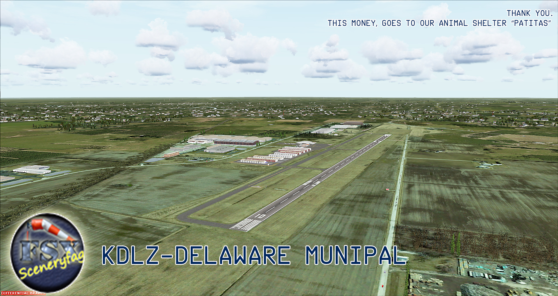 FSXCENERY - KDLZ DELAWARE MUNIPAL- OH17 AUGUST ACRES FSX