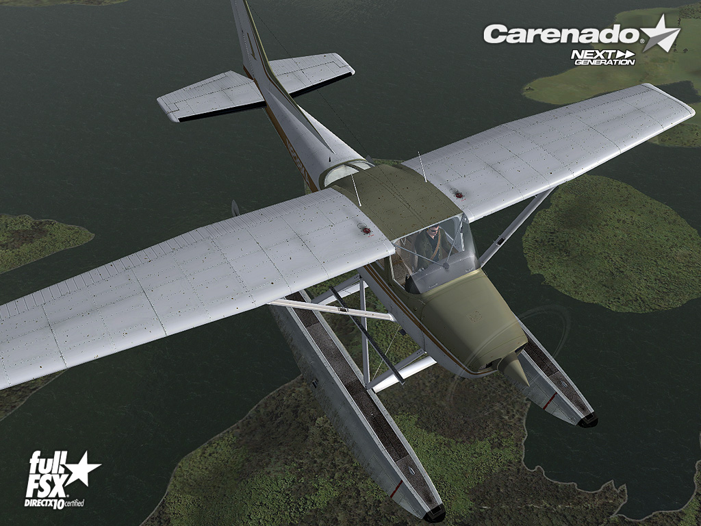 CARENADO - CESSNA C172N SKYHAWK II FLOAT FSX P3D