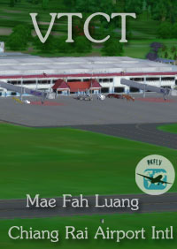 PK FLY - MAE FAH LUANG-CHIANG RAI INTERNATIONAL AIRPORT FSX