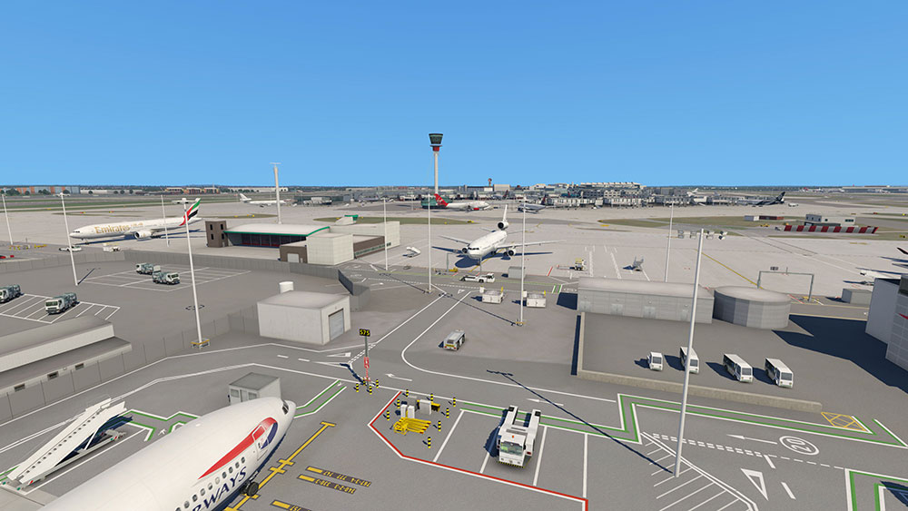 AEROSOFT - AIRPORT LONDON HEATHROW X-PLANE 11