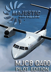 MAJESTIC SOFTWARE - DASH 8 Q400 PILOT EDITION 冲8 Q400 涡桨支线客机 飞行员版 32位 FSX P3D