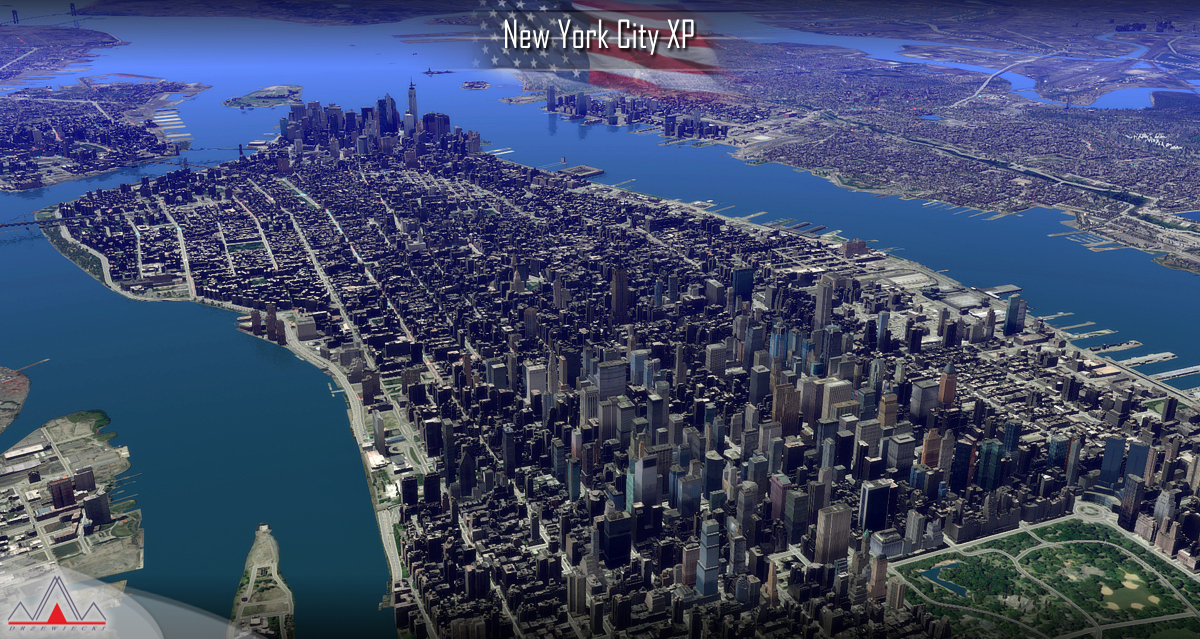 DRZEWIECKI DESIGN - NEW YORK CITY XP FOR X-PLANE 10/11