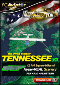 MEGASCENERYEARTH - PC AVIATOR - MEGASCENERY EARTH V3 - TENNESSEE FSX P3D
