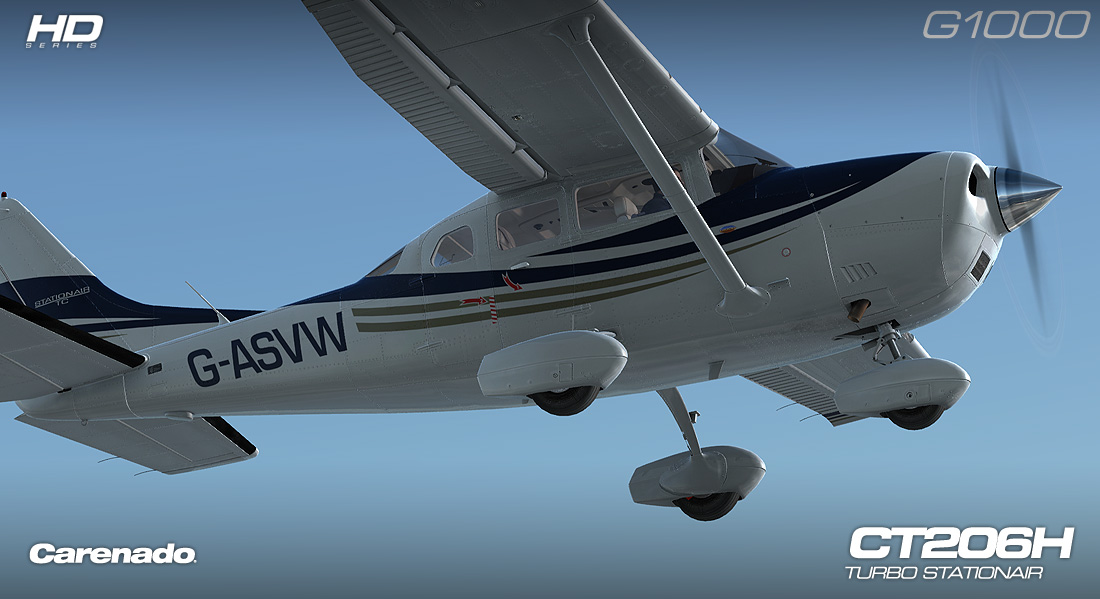 CARENADO - CT206H STATIONAIR G1000 EXTENSION PACK FSX P3D V2