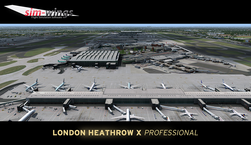 AEROSOFT - MEGA AIRPORT LONDON HEATHROW PROFESSIONAL P3D