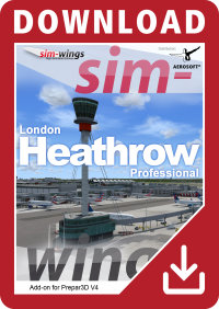AEROSOFT - MEGA AIRPORT LONDON HEATHROW PROFESSIONAL P3D4