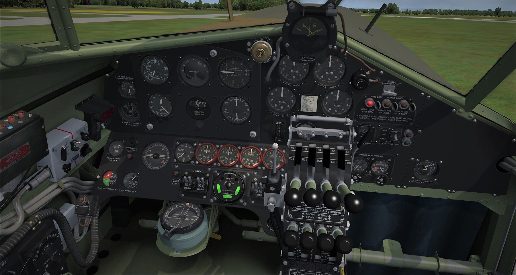FLIGHT REPLICAS - HALIFAX 哈利法克斯 重型轰炸机 FSX P3D