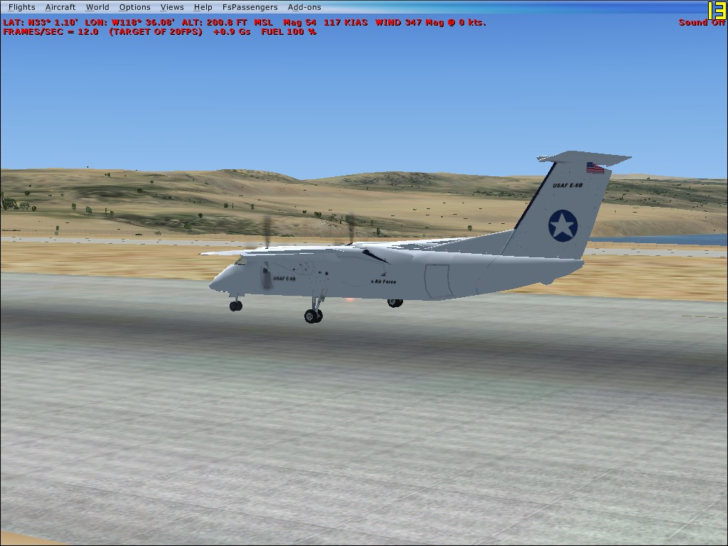 EAGLE SIMULATIONS - SAN CLEMENTE NALF