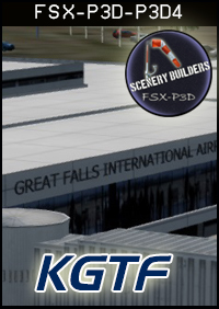 FSXCENERY - KGTF KING FALLS INTERNATIONAL AIRPORT FSX P3D