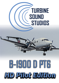 TURBINE SOUND STUDIOS - BEECHCRAFT B-1900D PT6 HD PILOT EDITION SOUNDPACKAGE FSX P3D