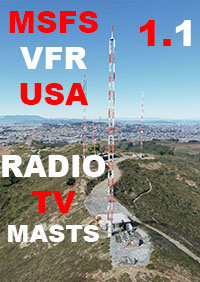 TABURET - MSFS USA VFR RADIO AND TV MASTS V 1.1 MSFS